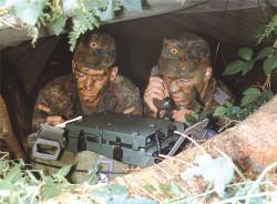 TELEFUNKEN RACOMS HF radio HRM 7000 Manpack