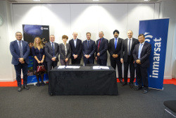 ESA ISAT contract signing