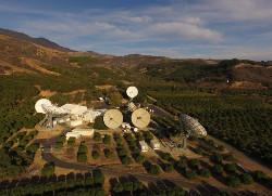 The COMSAT Santa Paula teleport facility