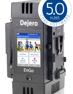 Dejero boosts video quality performance and efficiency with major update of core software at NAB