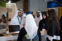 Yahsat at GITEX Student Lab competition 2017