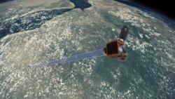 Artist impression of Earth-i's VividX2 satellite