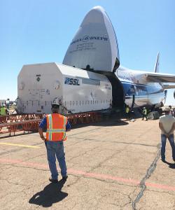 Amazonas 5 arrival