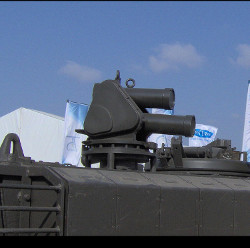 Iron Fist_IMI lightweight IR Radar based active protection system for armoured fighting vehicles & light utility vehicles