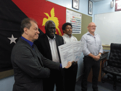 ABS issued Operator Licenses for Papua New Guinea