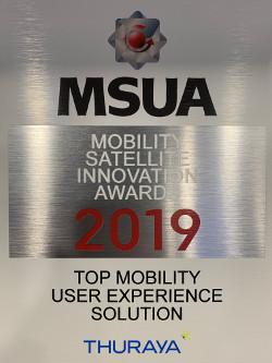 MSUA Award for Thuraya
