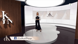 TV 2 virtual studio