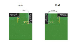 Many positions on PCBs