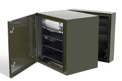 ViaLite outdoor enclosure C army green