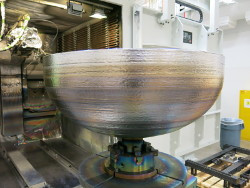 Giant satellite fuel tank sets new record for 3-D printed space parts