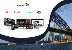 Vimond Sydney Office