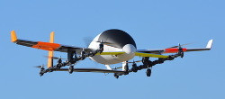 Aurora eVTOL Aircraft First Flight