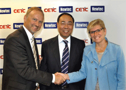 Newtec and CETC54 enter new partnership