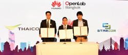 Thaicom MOU Huawei Starcor
