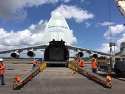 Horizons 3e arrives in French Guiana amid preparations for September 7th launch on Ariane 5
