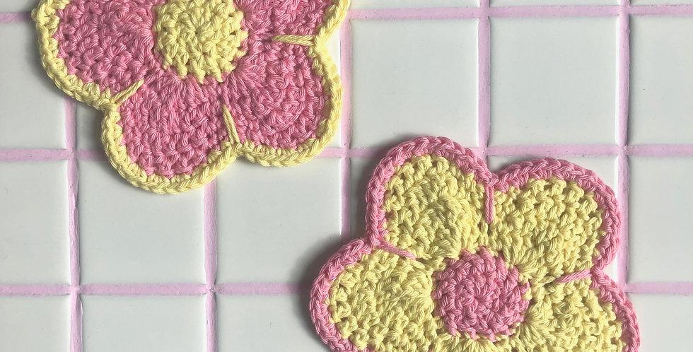 Lemon Drop Coasters