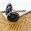 Thumbnail: SNOWFLAKE OBSIDIAN - Gemstone Cufflinks