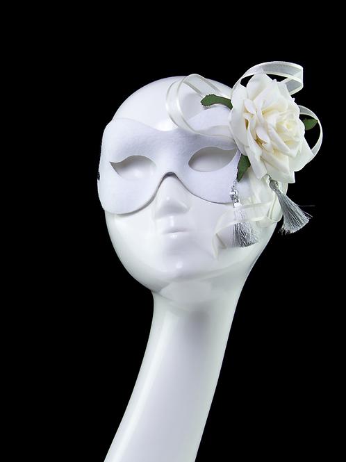Bridal Rose - White Mask