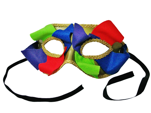Giullare - Colourful Jester Mask