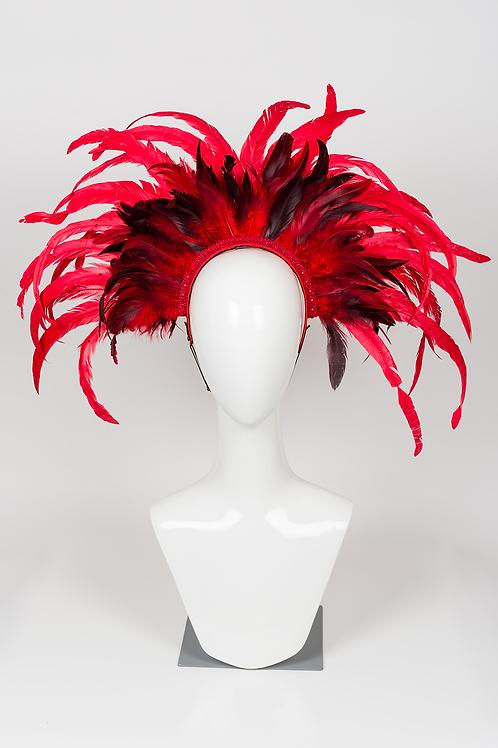 Roxy - Red Feather Headdress