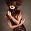 Thumbnail: SANTOS - Chocolate Sheer and Amber Couture Mask