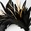 Thumbnail: Coco - Black Feather Headpiece