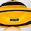 Thumbnail: Buzzed - Swarovski Striped Yellow and Black Felt Hat