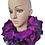 Thumbnail: Purple Rose - Luxury Neck Ruffle