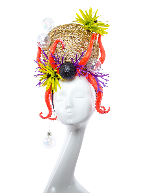 OCTOBUBBLE - Couture Light-up Sea Headdress