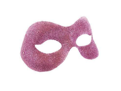 PINK GLITTER - Masquerade Mask