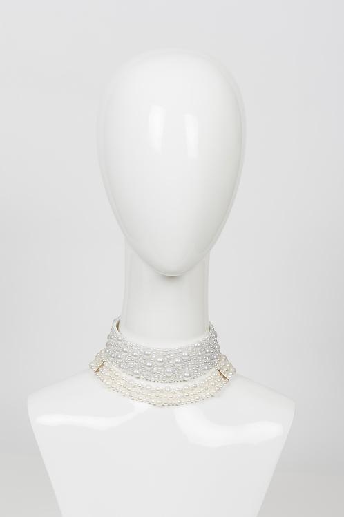 THIRA - Pearl Choker Necklace
