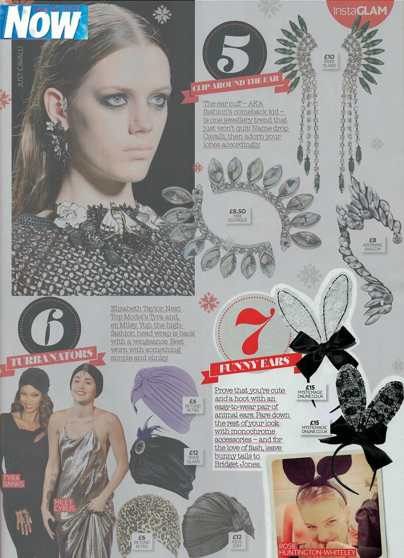 NOW Magazine, Dec 2013