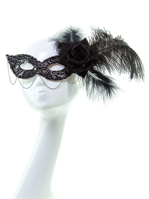 Gothika - Black Lace Mask