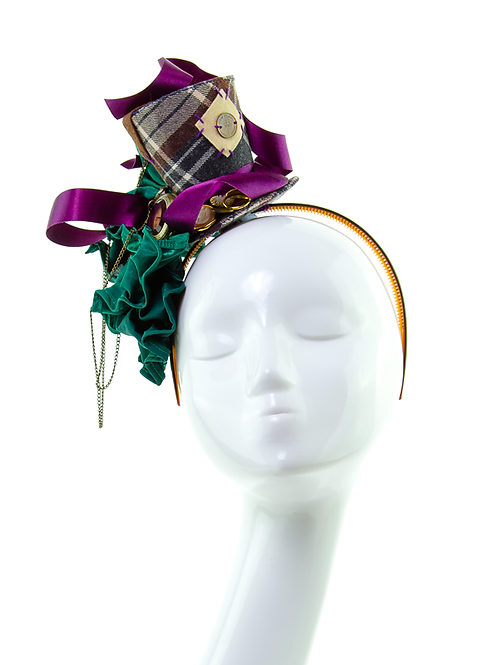 OLIVER - Theatrical Top Hat Headpiece