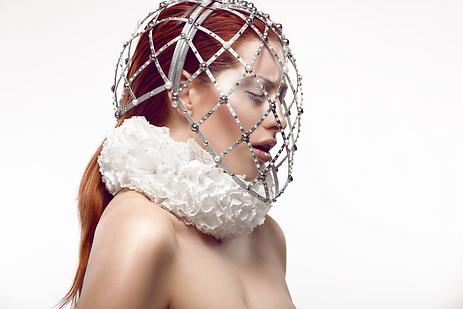 Mystic Magic high fashion Cage Mask