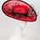 Thumbnail: Señorita - Red Sinamay Leather Hat