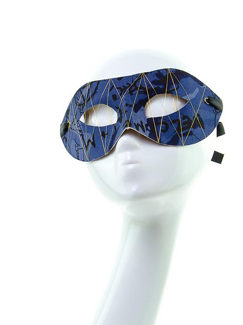 URBAN THREAD - Urban Blue Graffiti Mask