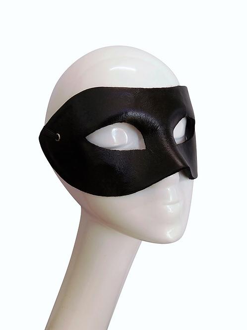 DARKER - Black Leather Mask