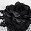 Thumbnail: Night Rose - Black Net Headpiece