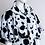 Thumbnail: Dalmatian Dress with High Neck Caplet