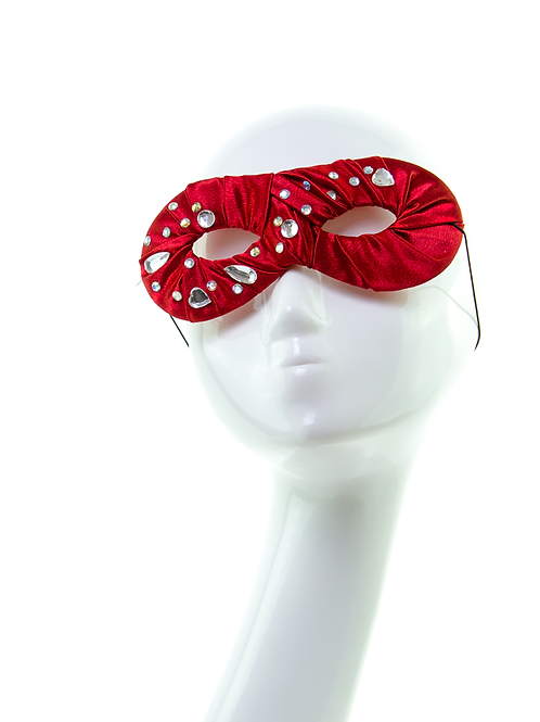 ROYAL SPARKLE - Red Masquerade Mask