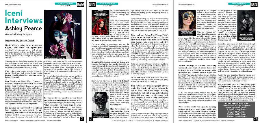 Iceni Magazine, October 2015