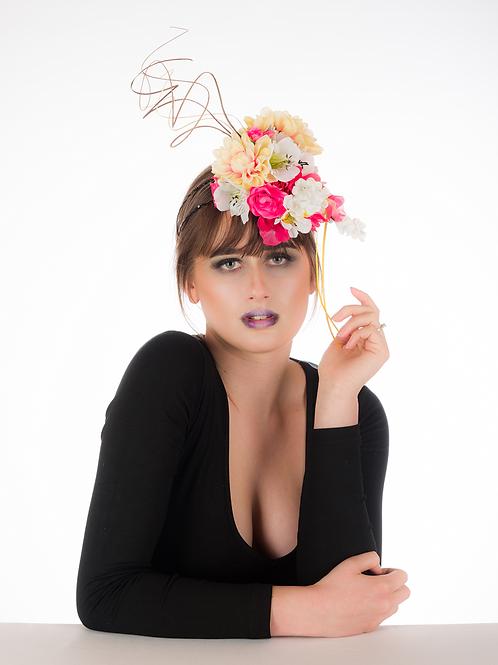 Joli - Floral Headpiece