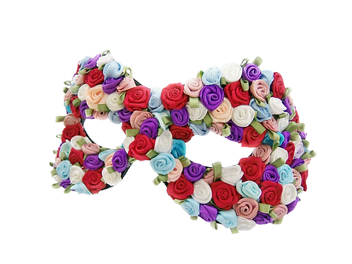 RENESMEE - Floral Masquerade Mask