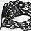 Thumbnail: Octavia - Black lace Swarovski Mask
