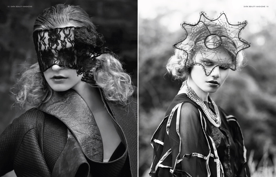 Dark Beauty Editorial, Dec 2013