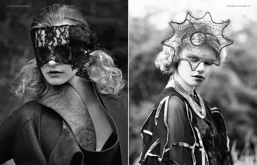 Dark Beauty Editorial, Dec 2013