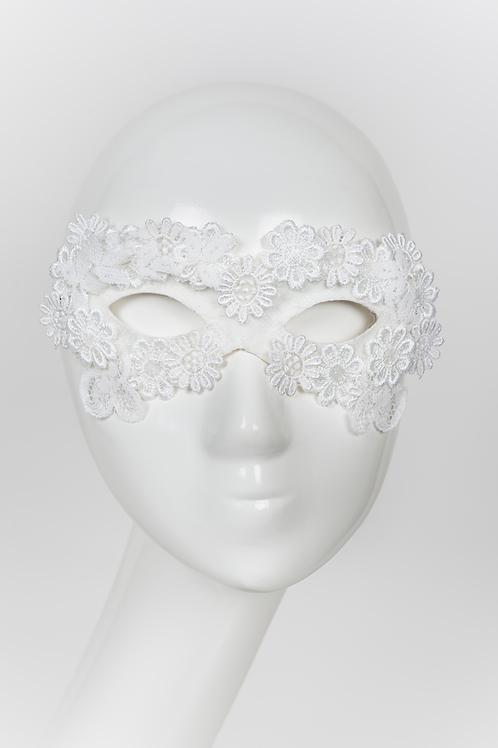 Donatella - White Lace Eye Mask