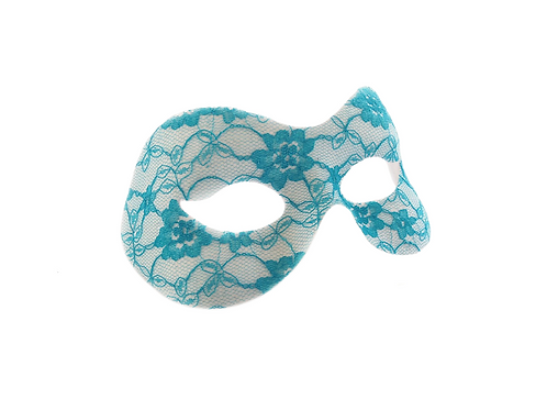 Floral Lace Masquerade Mask
