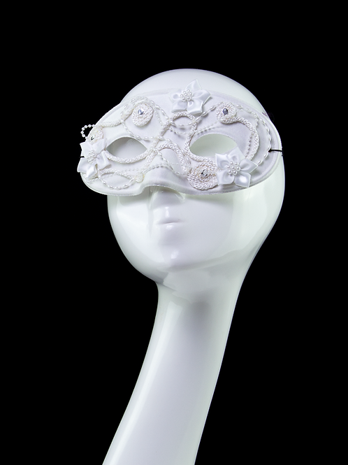 FAIRYTALE - White Masquerade Mask
